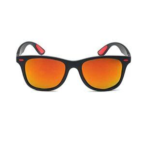 huaihua Lunettes de soleil à rivet polarisé vintage pour hommes Lunettes desoleil de conduite pourfemmesmyopie Lunettes de soleil de prescription