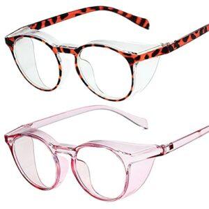 Lunettes de sécurité, anti-buée et anti-UV, lunettes de travail avec support