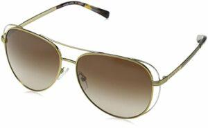 Michael Kors Lai 119113 58 Montures de lunettes, Or (Pale Gold/Silver/Tone/Smoke Gradient), Femme