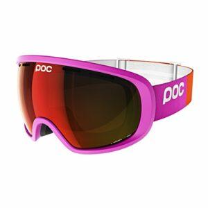 POC Fovea Masque de Ski Mixte Adulte, Rose Fluorescent