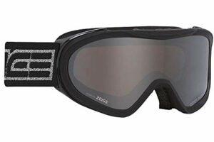 Salice 905DAFO, Masque de ski unisexe pour adulte, noir/argent, unique