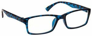 The Reading Glasses Bleu Écaille Courte Vue Lunettes Distance Pour Myopie Designer Style Hommes Femmes M92-3 -2,50