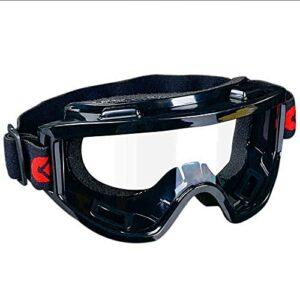 UKKD Lunettes de sécurité anti-brouillard – Verres de sécurité résistantes à la résistance aux chocs, lunettes de protection scellées sur les yeux sur lunettes pour lunettes pour le laboratoire (2 pac