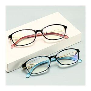 Verres de Lecture Haute définition à la Mode Femmes Anti-Blue Rayons Presbyopia Eyeglasses Ordinateur + 1.0- + 4.0 720 (Color : Pink, Size : +400)