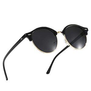 Gosunfly Lunettes de soleil polarisantes pour hommes conduire des lunettes de soleil d'extérieur pour la pêche à vélo