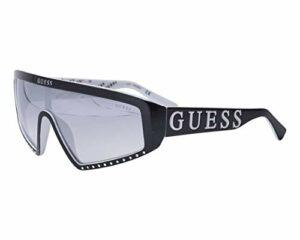 Guess lunettes de soleil GU7695 01C Noir de fumée taille Femme