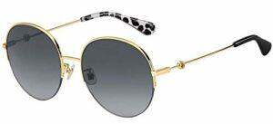 Lunettes de Soleil Kate Spade ELLIANA/F/S Gold/Grey Shaded 59/19/140 femme