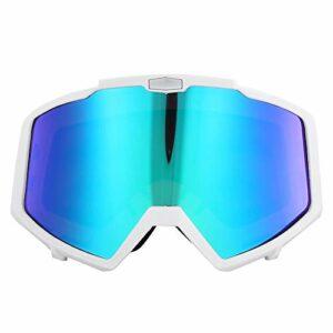 N»C Cadre + Lunettes Colorées Lunettes De Ski Lunettes Ski Ski Hommes Femmes Snowboard Snowboard Blanc