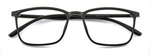 Reading Glasses Lunettes de Lecture Haute définition Anti-lumière Bleue pour Hommes et Femmes, Monture ultralégère TR90, lecteurs d'ordinateur Simples et élégants