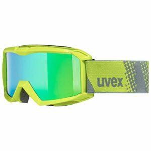 uvex flizz FM lunettes de ski Unisex-Youth, Lime, one size