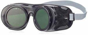 Bollé MINIP5 Lunettes de protection Miniprotex teinte 5, Noir, taille unique