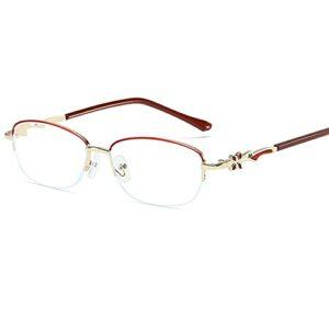 CHENPENG Lunettes de Lecture élégantes pour Hommes et Femmes, Lunettes de Lecture légères Anti-Fatigue oculaire, Anti-Fatigue oculaire et Anti-éblouissement, avec des lecteurs d'ordinateur,A,2.0X