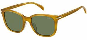 Dbe DB 1030/F/S B4l/QT Yellow Horn, Lunettes de Soleil Femme, Brown Honey/Green Olive