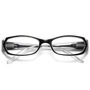 DDZHE Lunettes anti-lumière bleue, anti-fatigue oculaire, lunettes de lecture d'ordinateur, lunettes pour femmes et hommes, anti-UV, anti-éblouissement, 1.00-3.00