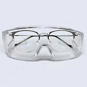 Fancheng Lunettes de protection anti-éclaboussures liquides, lunettes industrielles anti-buée pour extérieur, laboratoire, usage personnel ou professionnel