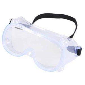 Garneck Lunettes de protection pour les yeux Protection des yeux Lunettes de soleil Anti-buée Anti-éclaboussures