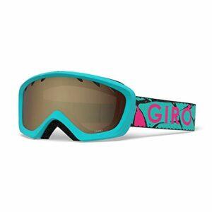 Giro Chico Masque de ski pour enfant Gris acier Taille S