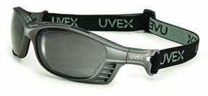 Honeywell S2621HS Uvex Livewire Lot de 10 paires de lunettes scellées avec monture argentée Capacité Volume Standard Gris