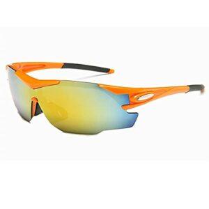 KAITUO Lunettes de Soleil Cyclisme Sport VTT Sports Polarized Sports Vélo Lunettes Vélo Vélo Vélo Vélos Vélo Vélos Hommes Femmes Vélo Eyewear (Color : NO 02, Eyewear Size : One Size)