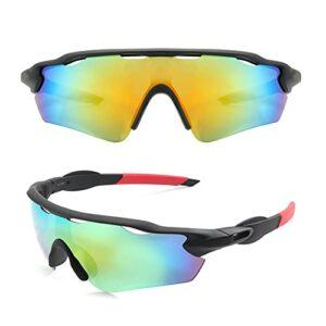 KAITUO UV400 Lunettes de Soleil à vélo Hommes Femmes Extérieur Extérieur Pêche Lunettes de pêche Sport Vélo Vélo Vélo MTB Lunettes de Bicyclette (Color : NO 03, Eyewear Size : One Size)