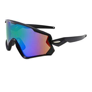 KAITUO Verres à vélo MTB Lunettes de vélo Eyewear Courir Sports de pêche Polarisée Vélo Sunglasses Hommes (Color : NO 07, Eyewear Size : One Size)
