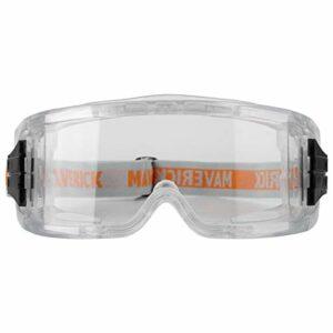 Lunettes de sécurité en PVC – Portable – Coupe-vent – Anti-poussière – Pour l'équitation, le feu, le sauvetage, l'équitation, la coupe – Rouge