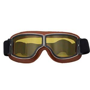Lunettes De Ski Masques Snowboard,Motoneige Moto Lunettes Ski Goggles Protection Lunettes Lens Anti-poussière, UV Protection,Anti-Buée, Coupe-Vent pour (Style 12,Taille Unique)