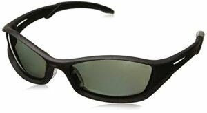MCR Sécurité Tb112afz Tribal hybride Temple Motif lunettes de sécurité avec cadre Graphite et polarisées Gris antibuée, 1paire