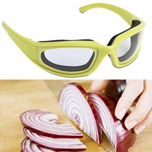 Nicoone Lunettes de protection anti-éclaboussures et anti-épices, pour oignons, gadget de cuisine