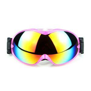 PVDR Lunettes De Ski Double Couche UV400 Ski Neige Snowboard Lunettes Anti-Sable Coupe-Vent Lunettes Unisexe pour Femmes Hommes
