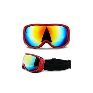 TCross Lunettes de Ski Snowboard Snowboard antibrouillard Ski Ski Marinette Lunettes de Soleil motocloss plaqué Motocross Hors Route Masque de Casque Masque Hommes Femmes Femmes (Couleur : B)
