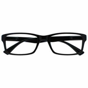 The Reading Glasses Noir Courte Vue Lunettes Distance Pour Myopie Designer Style Hommes Femmes M92-1 -2,00