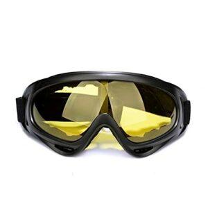 AVOA Masque de Ski Snowboard Snowboard Snowboard Snowboard Snowboard Lunettes Anti-Brouillard Verres à la Poubelle Coupe-Vent UV400 Lunettes de Soleil Ski Skate Lunettes de Soleil Masques et Lunettes