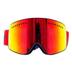 Bcofoa Lunettes de Ski Masques Snowboard,Motoneige Moto Lunettes Ski Goggles Protection Lunettes Lentille magnétique Lens,UV Protection,Anti-Buée,Coupe-Vent pour Garçons et Filles,Hommes&Femme