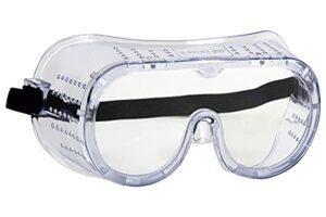Cofan Lunettes de sécurité avec ventilation directe Transparent Anti-buée Protection contre les chocs