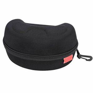 EVTSCAN Ski Snowboard Goggles Lunettes Hard Carry Case Zip Box Protector Pochette