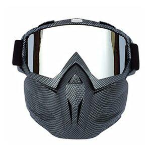 HAIMING Lunettes de Soleil Snowboard Snowboard Snowmobile Eyewear Masque Ski de Neige Ski d'hiver Anti-étanche (Color Name : 01)