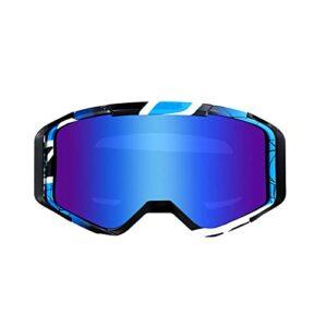 Lunettes de Ski, Lunettes de Snowboard pour Adultes porteurs de Lunettes, Lunettes de Ski, Lunettes de Motocross d'extérieur pour Adultes, Lunettes de Casques de Moto Tout-Terrain