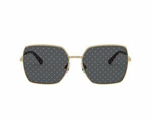 Lunettes de Soleil Dolce & Gabbana SLIM DG 2242 Gold/Grey Silver 57/16/140 femme