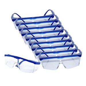 SM SunniMix 10 Lots Lunettes de Sécurité Oculaire Cyclisme Anti-rayures Anti-rayures
