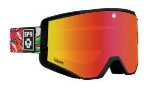 SPY OPTIC Ace Lunettes de ski et de snowboard avec miroir Spectra rouge