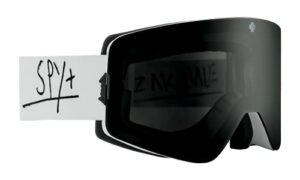 SPY OPTIC Marauder Lunettes de ski et de snowboard Couleur du cadre : Zak Hale – Couleur des verres : gris et vert avec miroir Spectra noir + Happy LL rouge avec miroir argenté