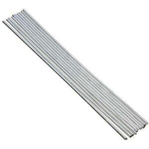 Staright 10 pièces baguettes de soudage en aluminium à noyau de flux aucun flux requis faible résistance à la corrosion de point de fusion
