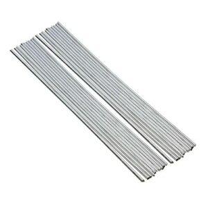 Staright 20 pièces baguettes de soudage en aluminium à noyau de flux aucun flux requis faible résistance à la corrosion de point de fusion