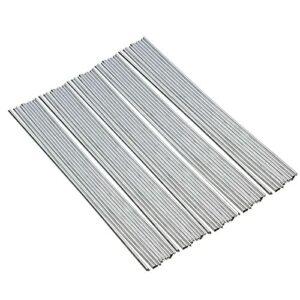Staright 50 pièces baguettes de soudage en aluminium à noyau de flux aucun flux requis faible résistance à la corrosion de point de fusion