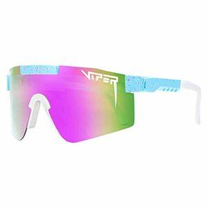 TSAFRER Lunettes de soleil Pit Viper pour femme, lunettes polarisées UV400, pour course à pied, coupe-vent, pour le sport, le vélo, la randonnée, les années 2000