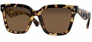 Valentino Lunettes de Soleil VA 4084 Blonde Havana/Brown 55/18/140 femme