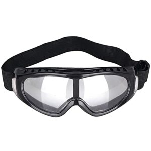 Wilitto Lunettes de protection en éponge pour le ski, le pare-brise – Anti-chocs, anti-éclaboussures et anti-poussière – Transparentes