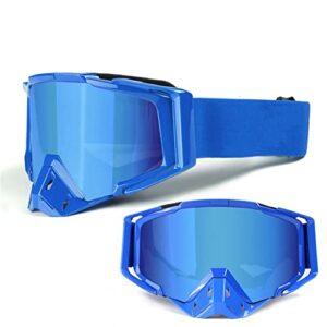 XJST Lunettes de Ski Anti-Reflets, perturbatrice UV400 Protection Sports d'hiver Verres de Protection pour Hommes, Jeunesse, Patinage, Sports à Neige,D