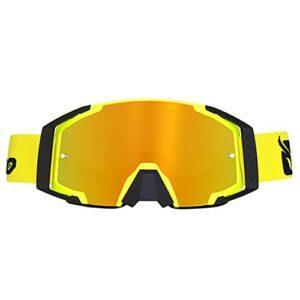 XJST Lunettes de Ski de Snowboard Premium Snowboard Anti-Fog Lunettes de Ski, Verres de Protection des Sports d'hiver, pour Les Sports d'hiver, pour Sports d'hiver, Ski, Patinage,A